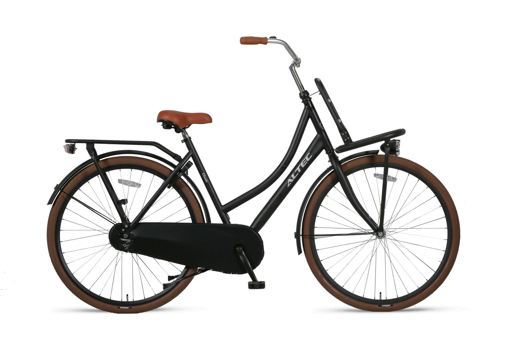 Altec Outlet Altec Classic Transportfiets 28 inch Zwart