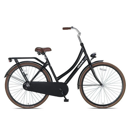 Crown Outlet Crown Moscow Omafiets 28 inch Brown Edition 53cm