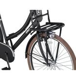 Crown Outlet Crown Paris Transportfiets 28 inch v-brakes Zwart