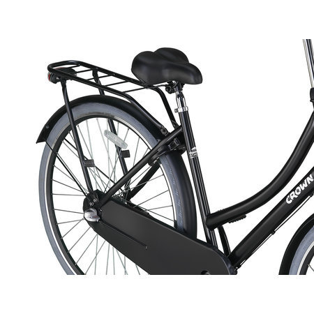 Crown Outlet Crown Athens Omafiets 28 inch Gray Edition