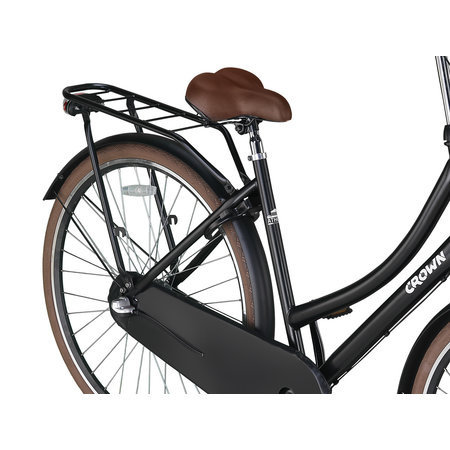 Crown Outlet Crown Athens Omafiets 28 inch Brown Edition