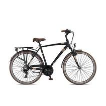 Outlet Umit Ventura Herenfiets 28 inch 56cm V-brakes 21v Black/ Brown