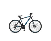 Outlet Umit Magnetic Trekking 2D Heren 28 inch 51cm 21v Black/Blue