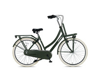 Outlet Crown Istanbul Transportfiets 28 inch v-brakes N3 Army Green