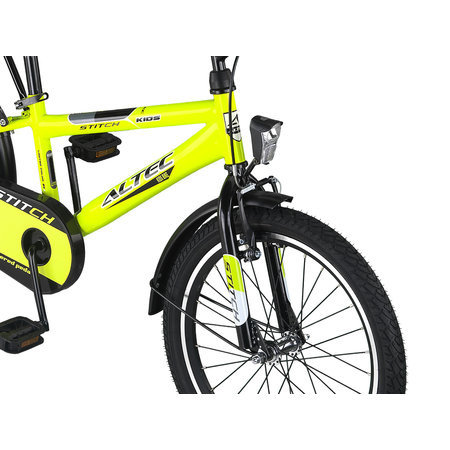 Altec Outlet Altec Stitch Jongensfiets 20 inch Lime Groen 2020