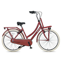 Outlet Crown Istanbul Transportfiets 28 inch v-brakes N3 Warm Rood
