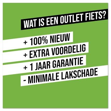 Altec Outlet Altec Omega Plus Herenfiets 28 inch 61cm N7 Mat Zwart