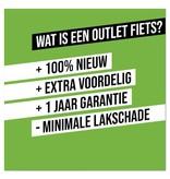 Altec Outlet Altec Dutch Transportfiets 28 inch 53cm 3v Bruin