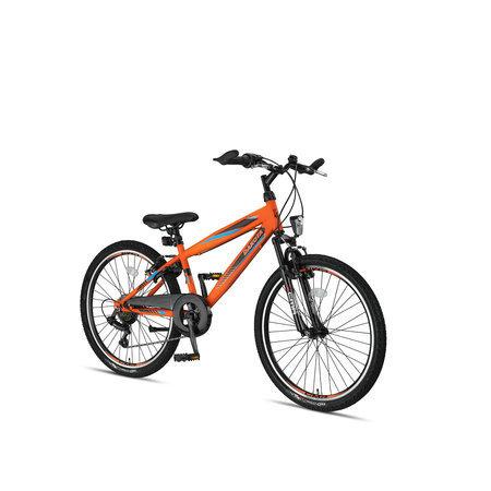 Altec Altec Dakota Jongensfiets 24 inch 7 speed Neon Oranje 2021