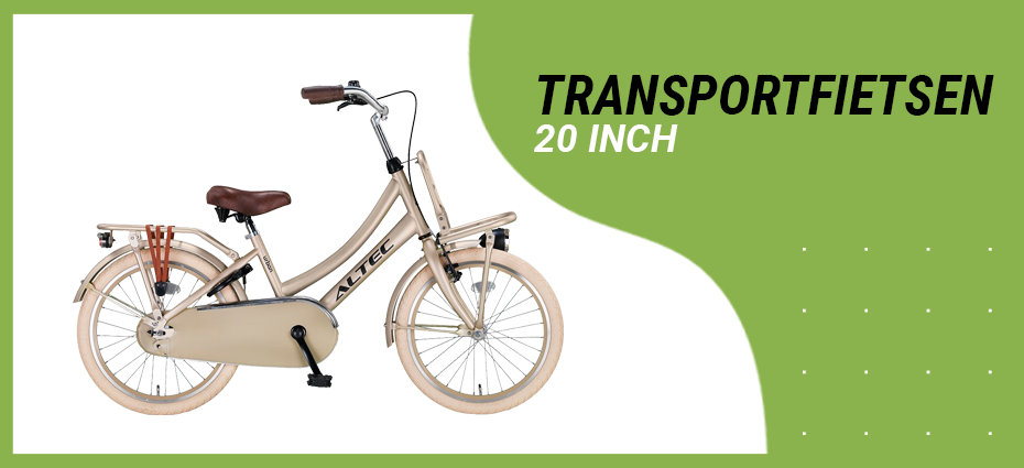 20 inch transportfiets