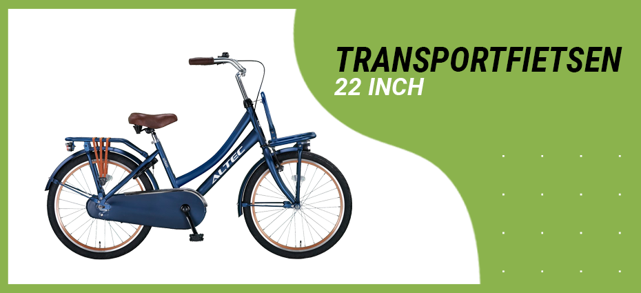 22 inch transportfiets