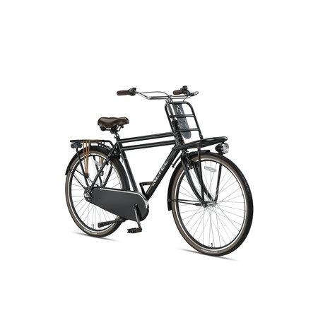 Altec Altec Dutch 28inch Transportfiets Heren N-3 63cm Mat Zwart Nieuw