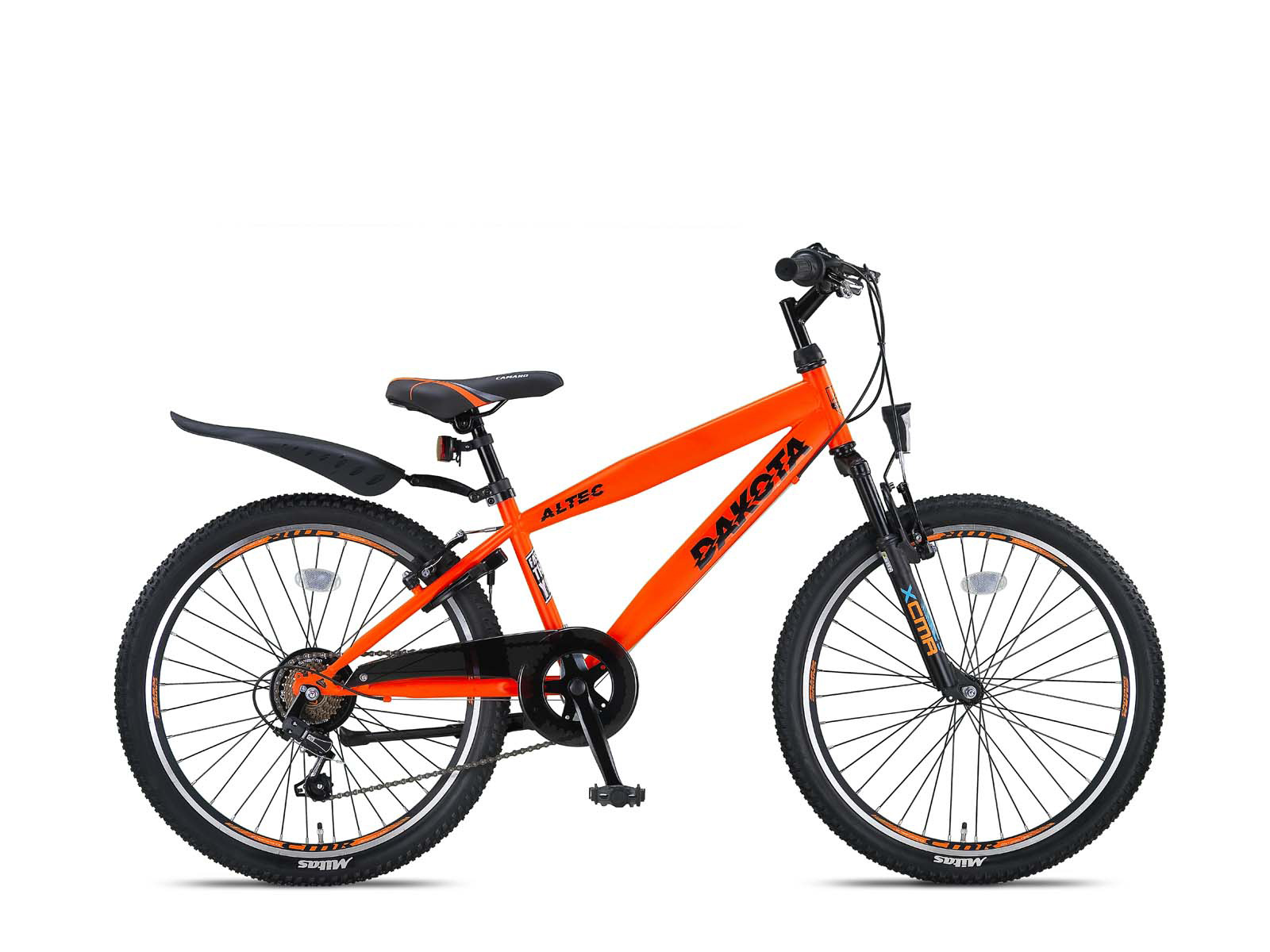 Altec Altec Dakota 24 inch Jongensfiets Neon Orange