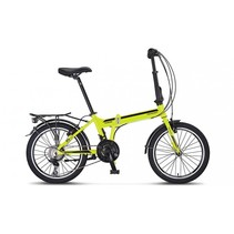 Mosso Marine Vouwfiets 20 inch 21versn. Lime