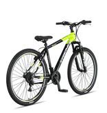 Altec Altec Trend 27,5 inch Mountainbike 21v Zwart Lime