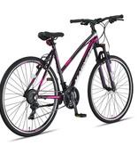 Altec Altec Magnetic Trekking V-Brakes Dames 28inch 52cm Gray/Pink