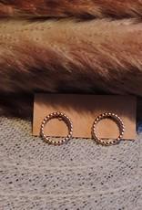 Double O earrings