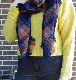 Andea scarf blue