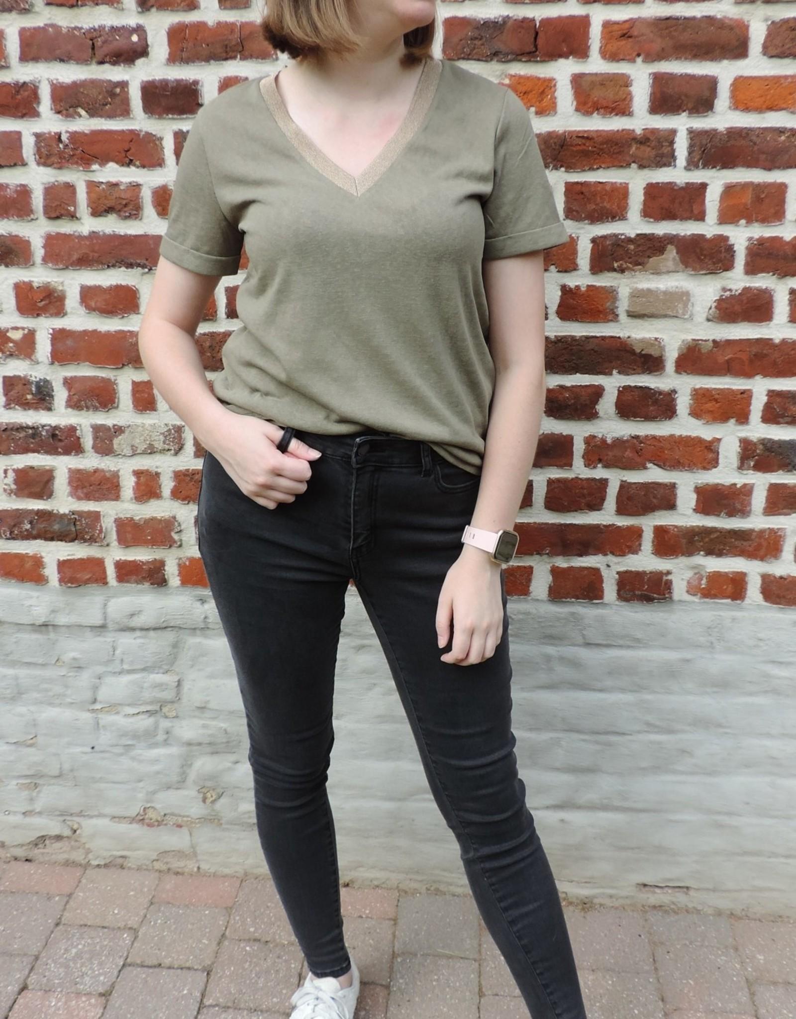 Bart T-shirt kaki