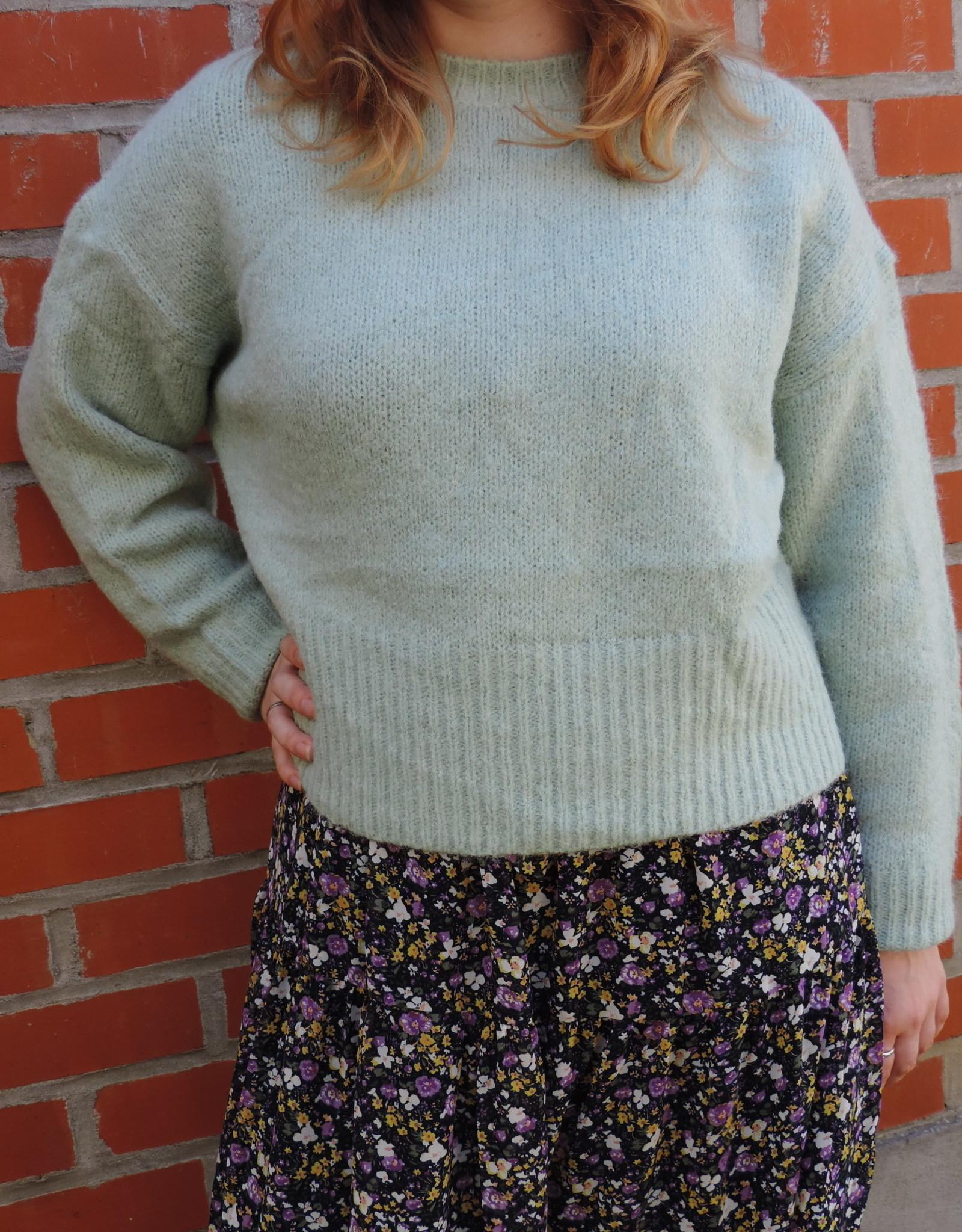 Polichino knit opaline