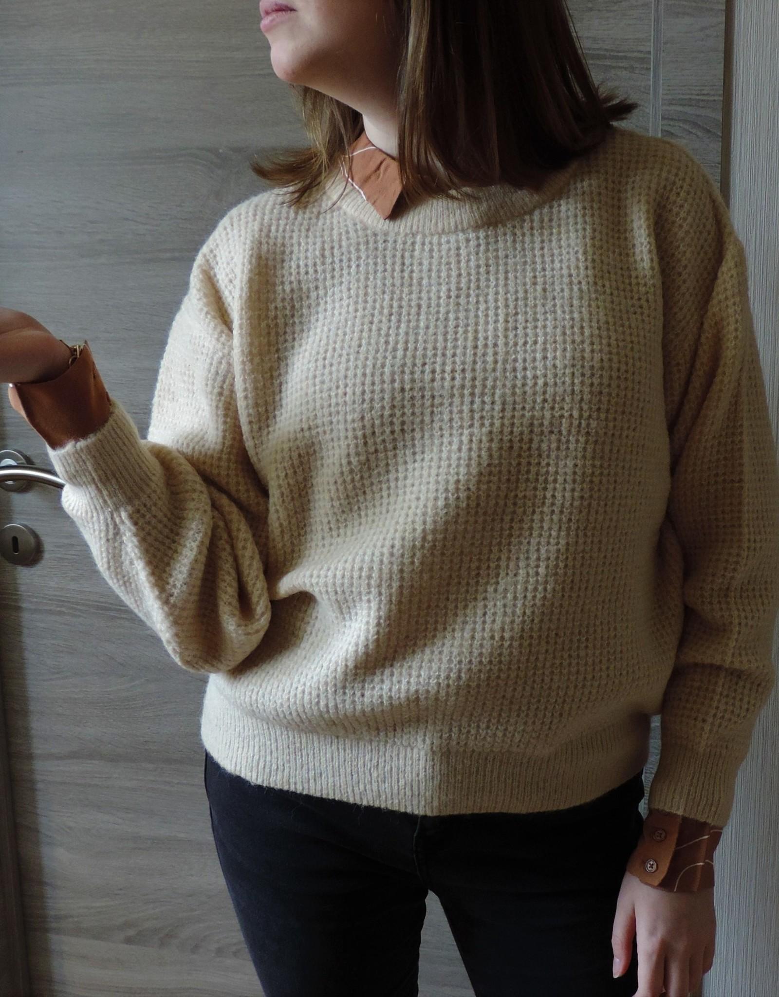 Dina knit tapioca