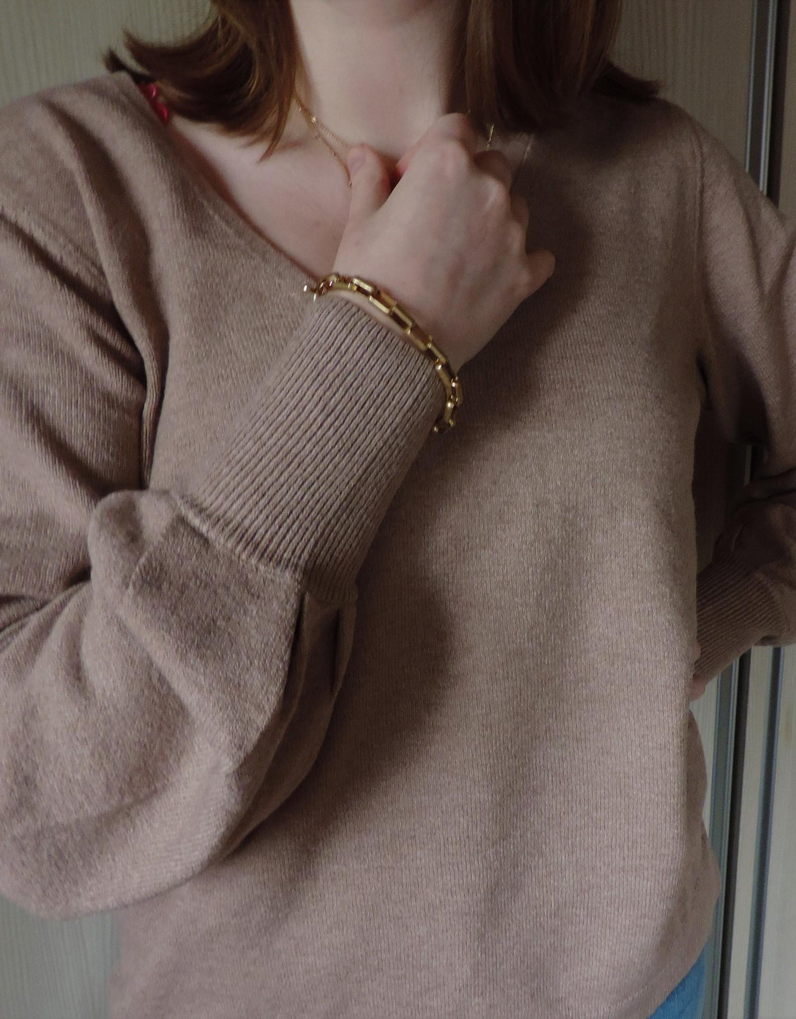 Alicia knit natural