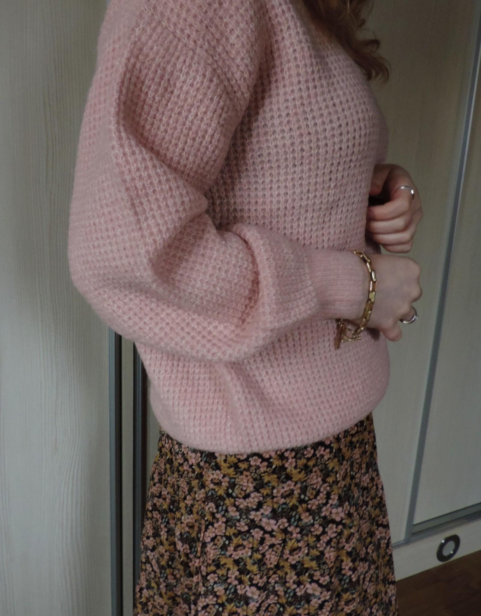 Dina knit pink