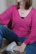 Alicia knit fuchsia
