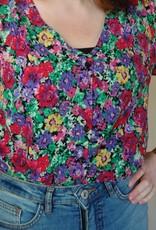 Emma top green