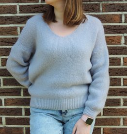 Spring knit blue/purple
