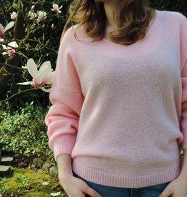 Spring knit pink