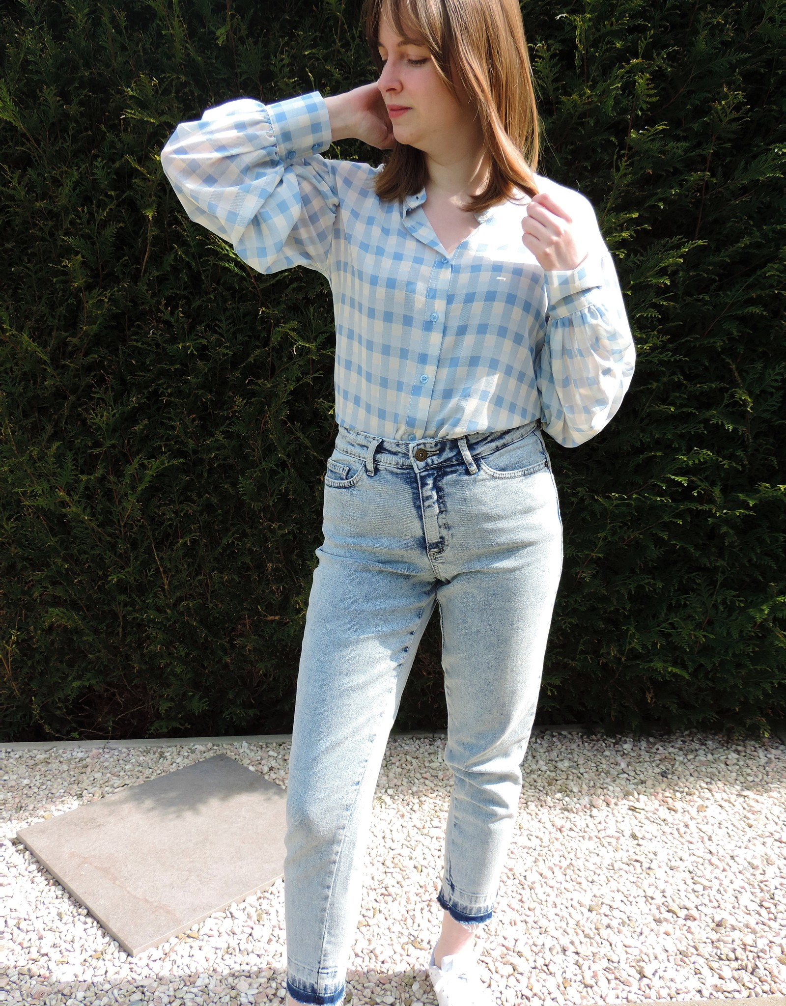 Elsa blouse blue
