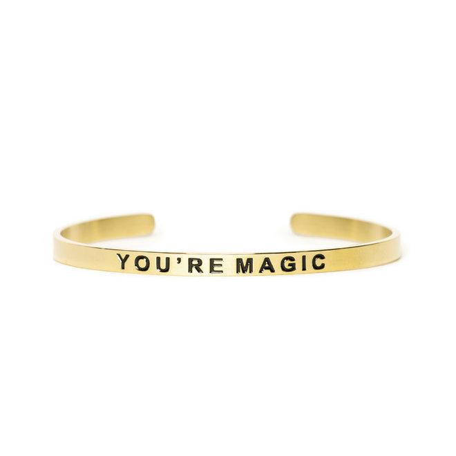Cuff you're magic goud