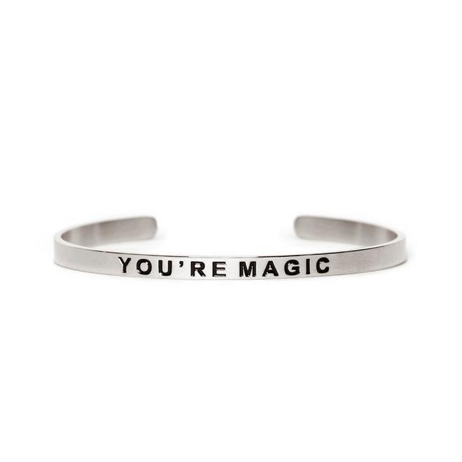 Cuff you're magic zilver