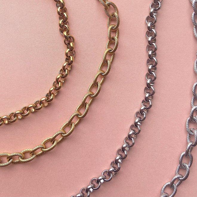 Armband jasseron goud