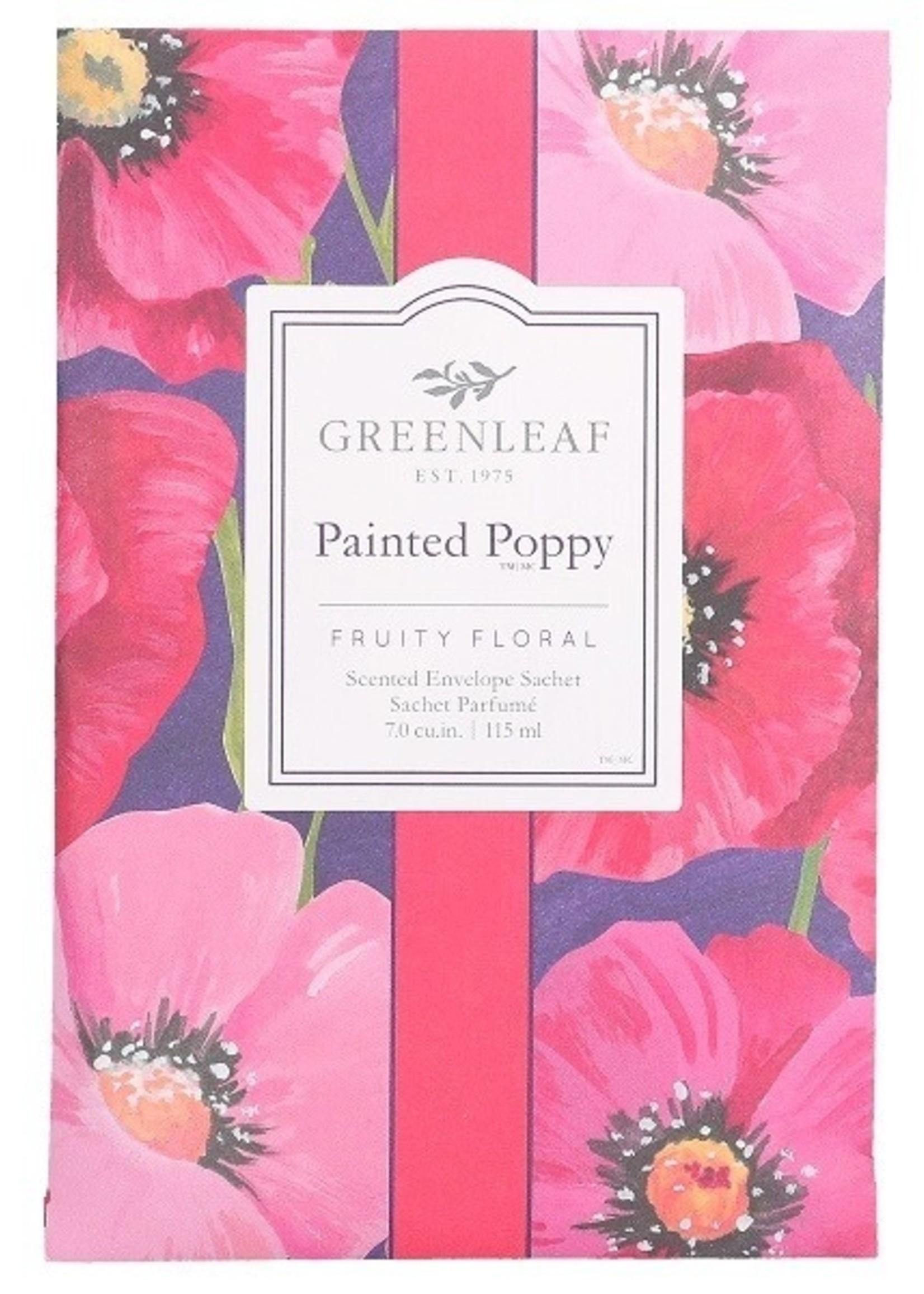 Greenleaf Greenleaf Geurzakje Painted Poppy