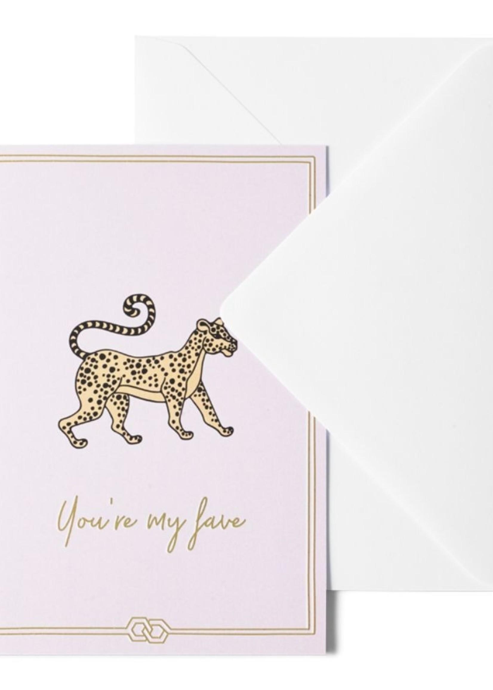 Me & Mats Me & Mats Greeting Card You're My Fave