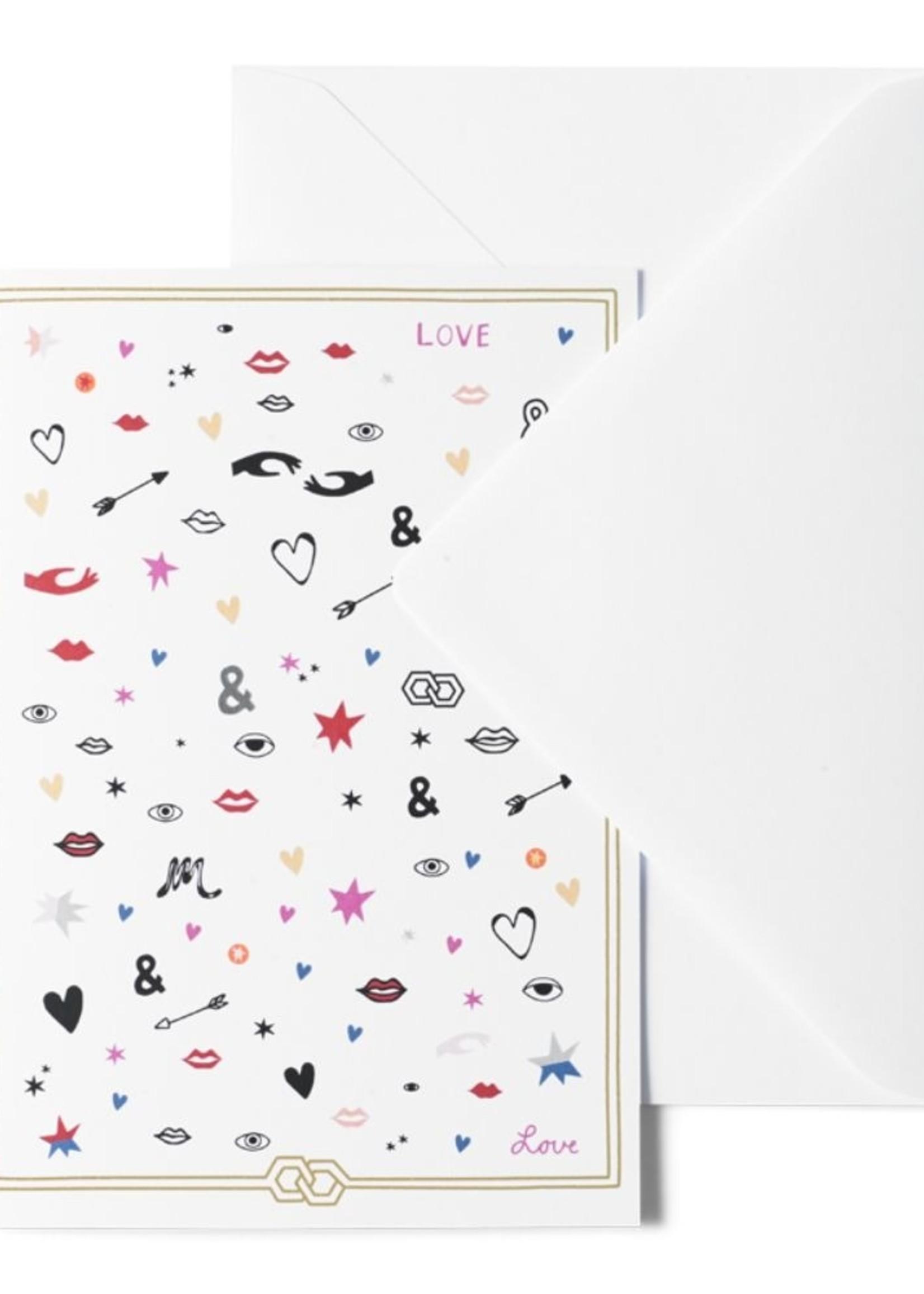 Me & Mats Me & Mats Greeting Card Love