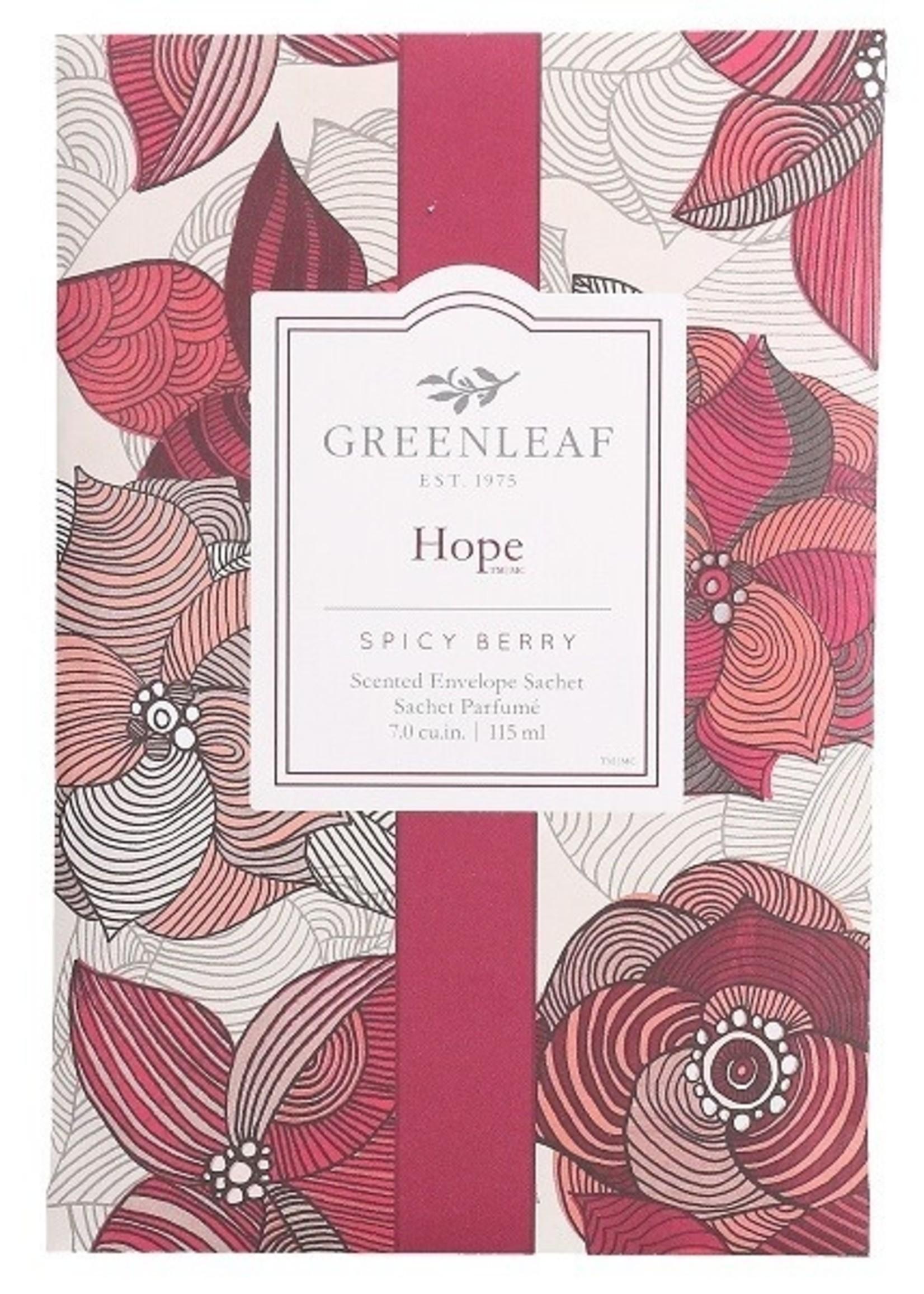 Greenleaf Greenleaf Geurzakje Hope