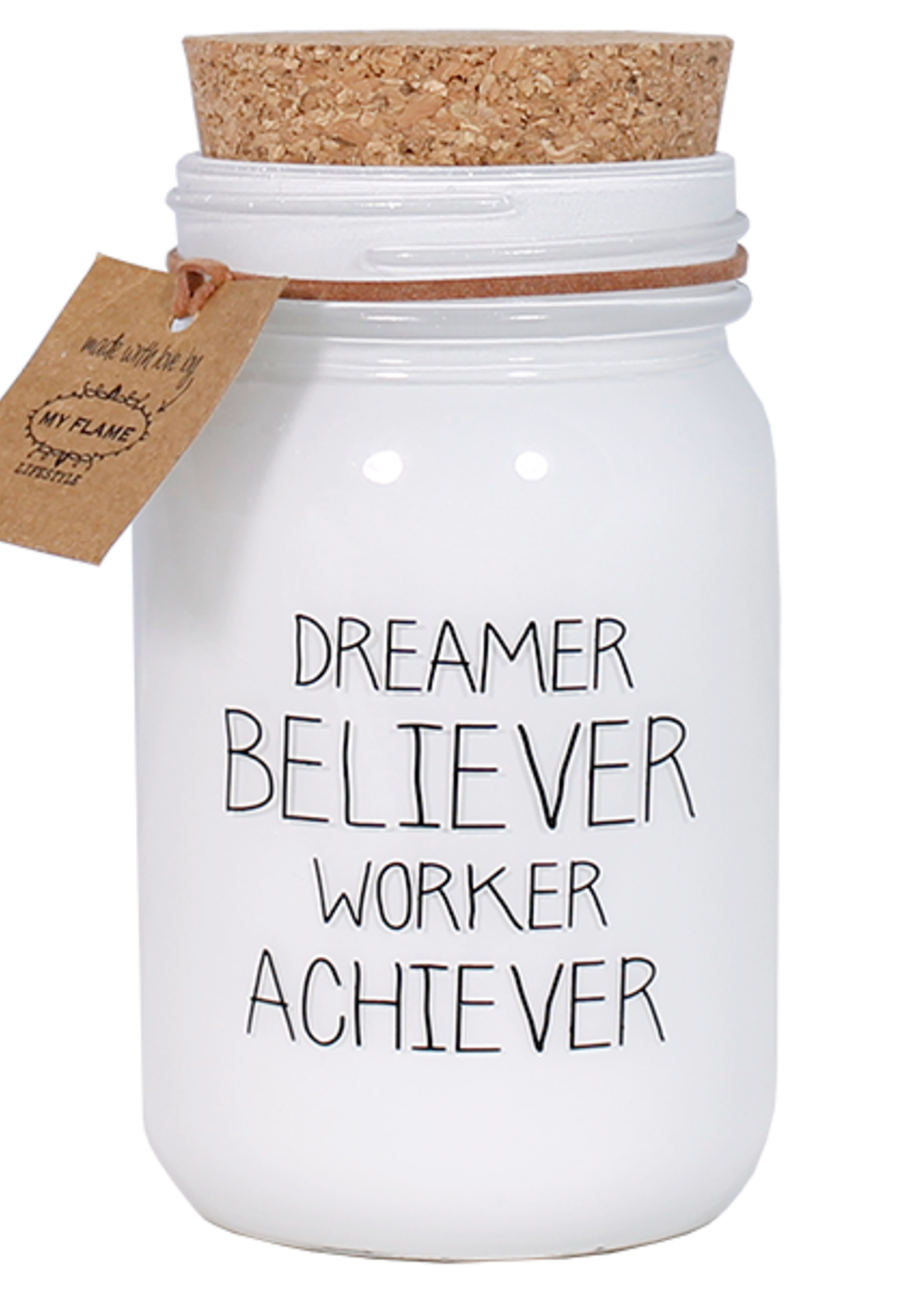 My Flame Lifestyle My Flame Dreamer Believer Worker Achiever Kaars