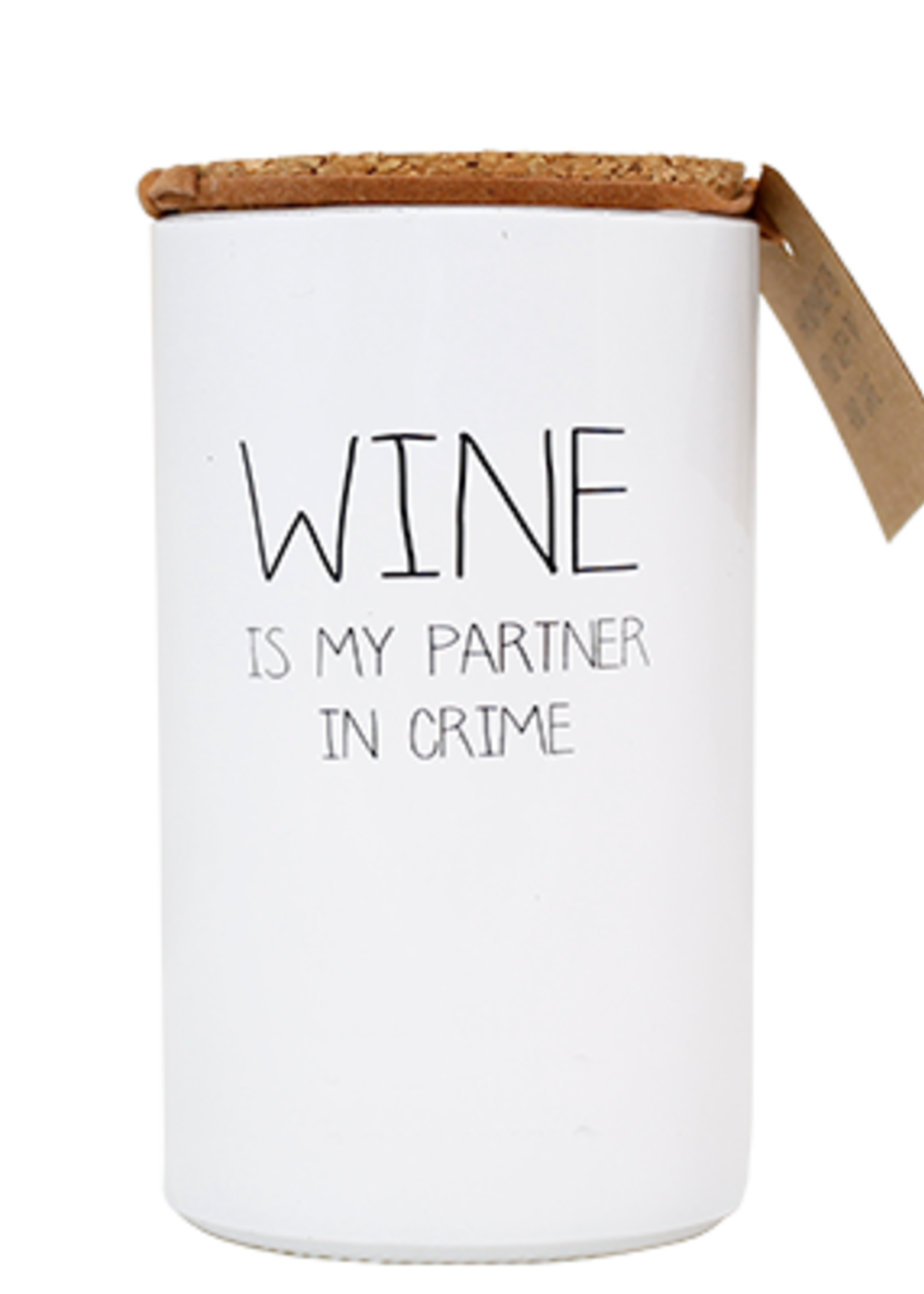 My Flame Lifestyle My Flame Wine Is My Parner In Crime Kaars