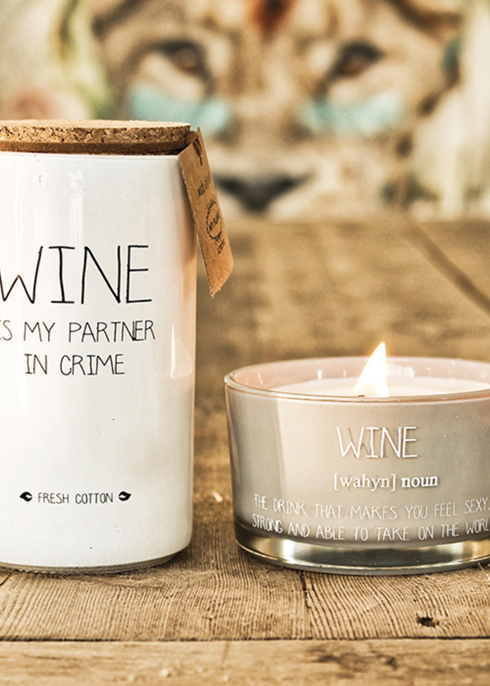 My Flame Lifestyle My Flame Wine Kaars