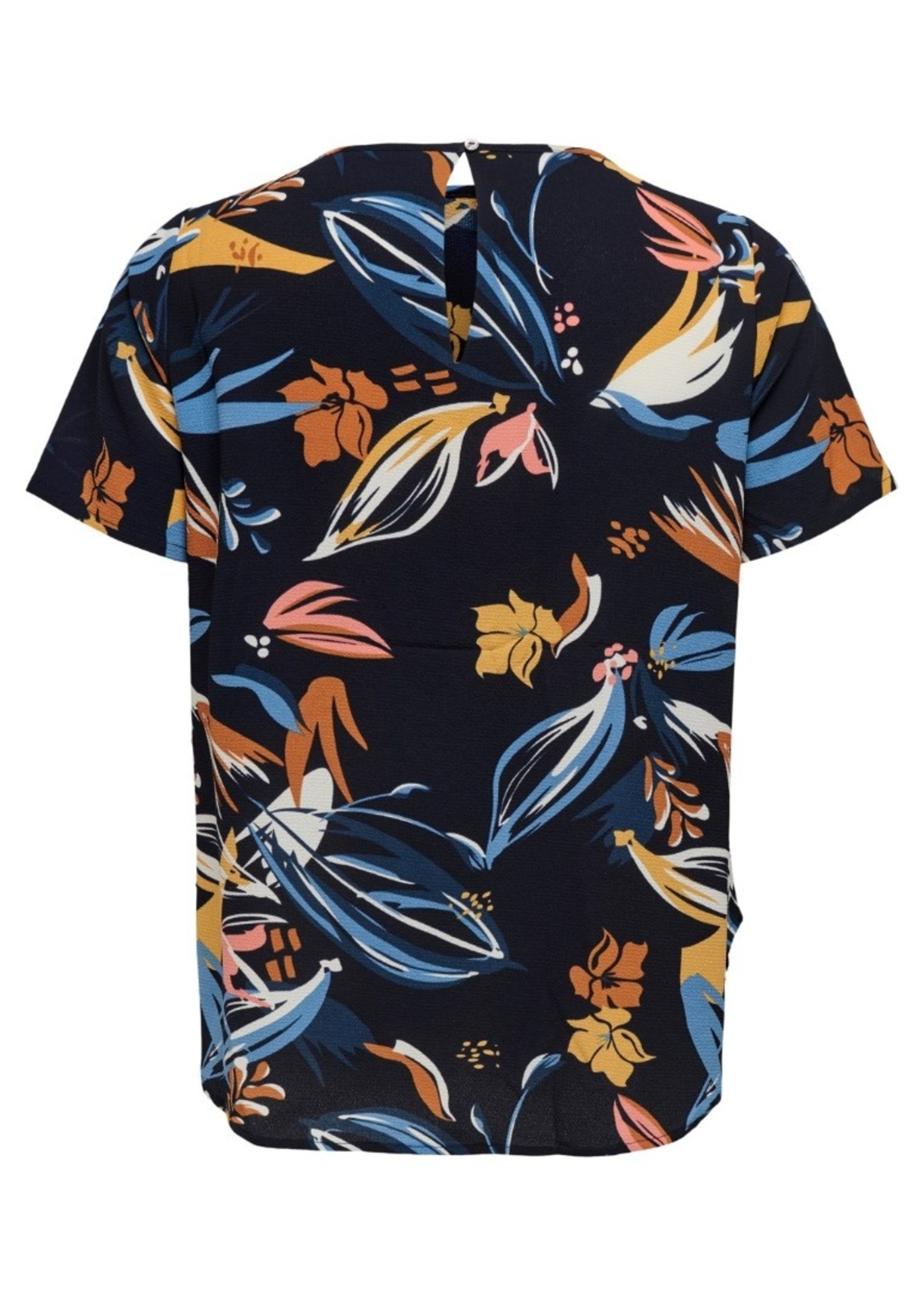 Only Carmakoma Only Carmakoma Lux Top Blue Flower