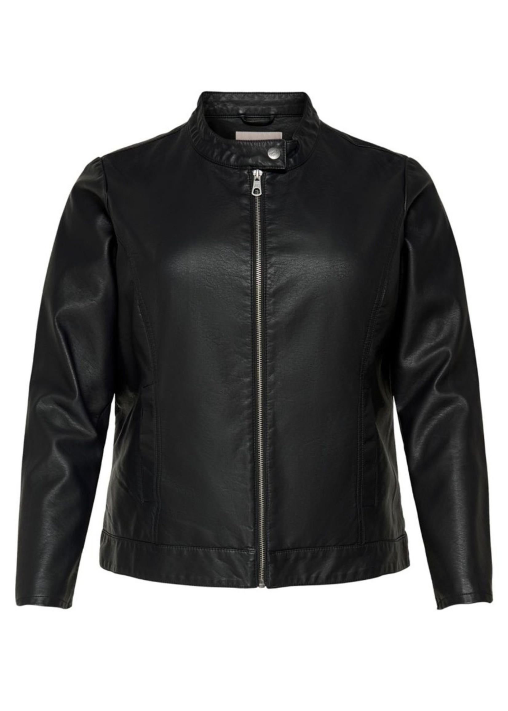 Only Carmakoma Only Carmakoma Leather Jacket
