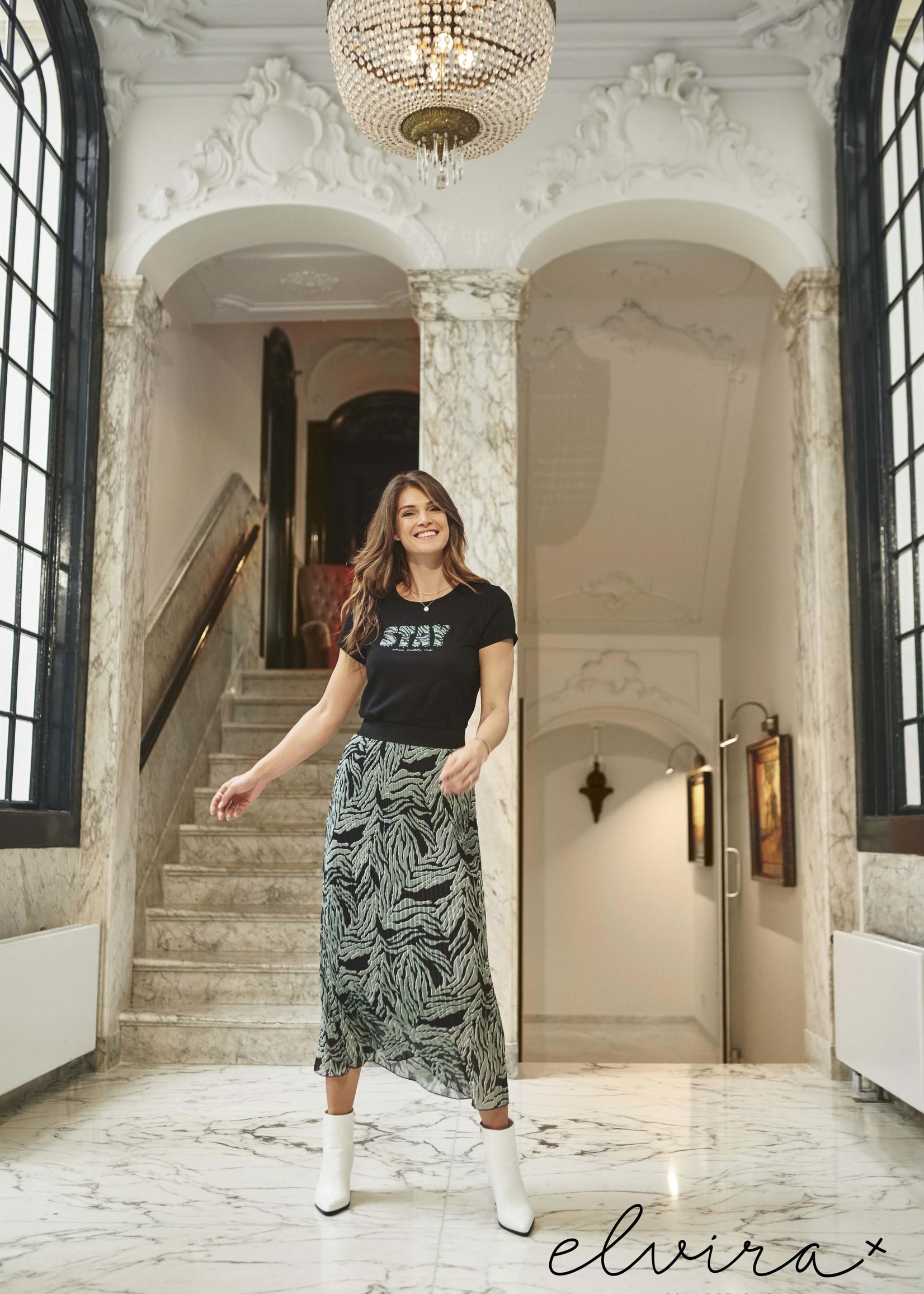 Elvira Collections Elvira Collections Fien Plissé Skirt