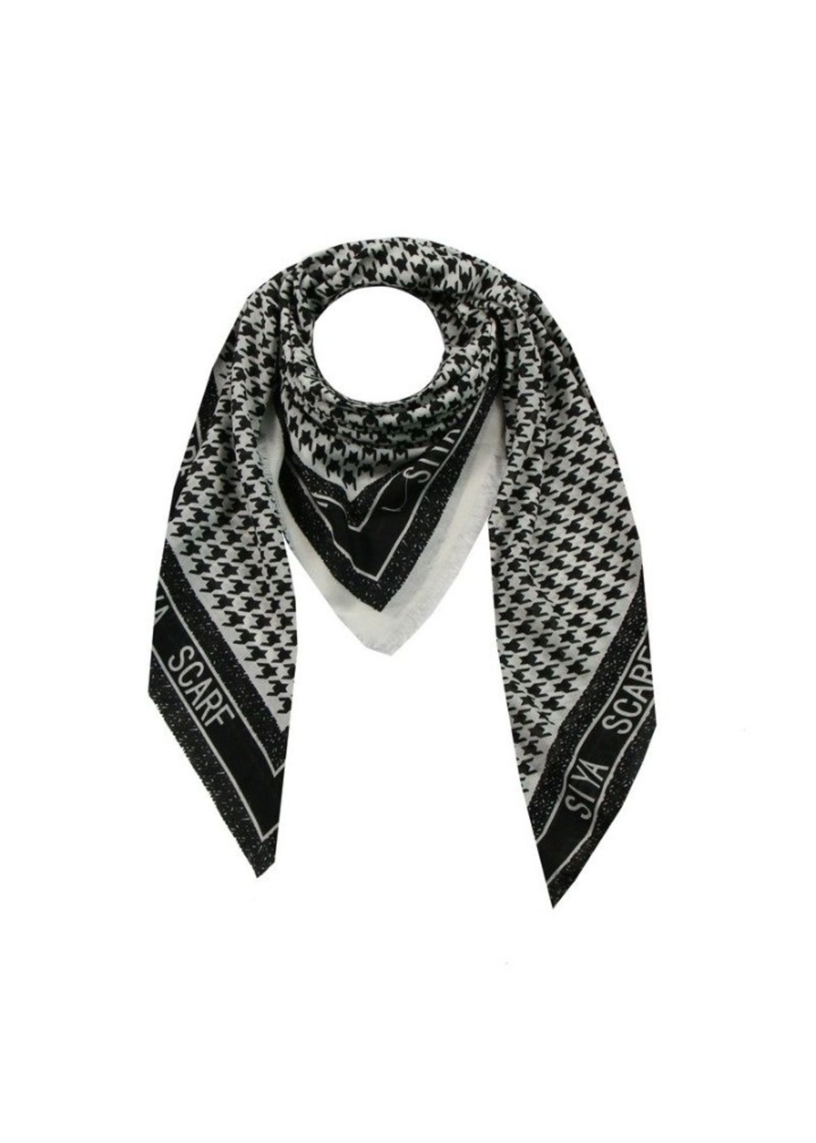 Black & White Scarf