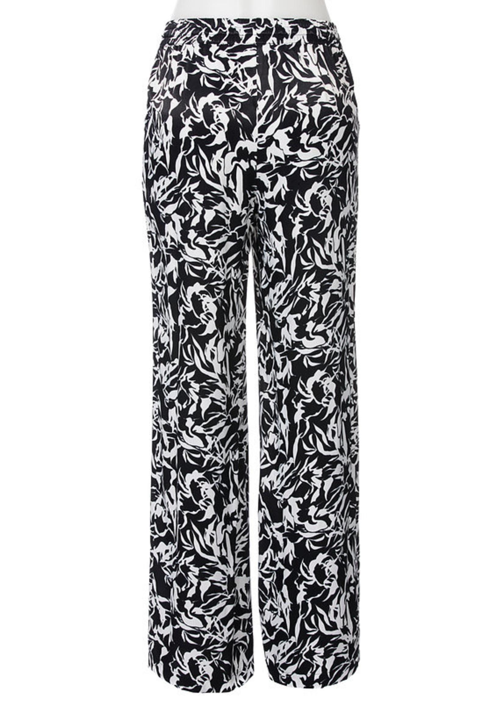 Stark Stark Bahia Black Flower Pants