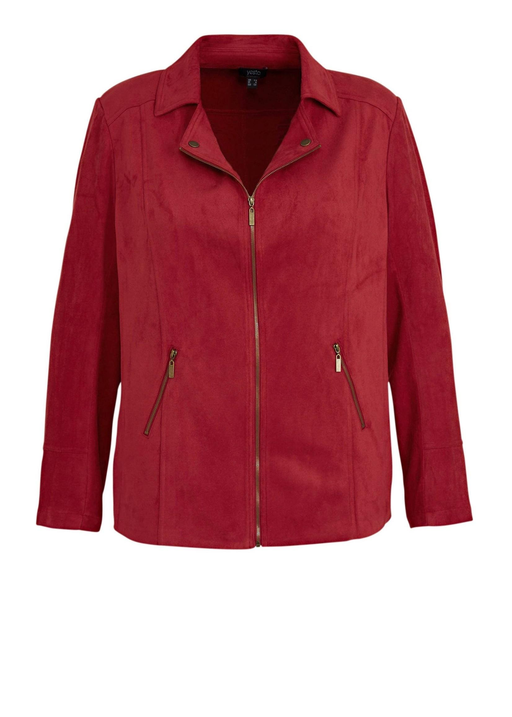 Yesta Yesta Warm Red Jacket