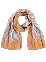 Yellow Zebra Scarf