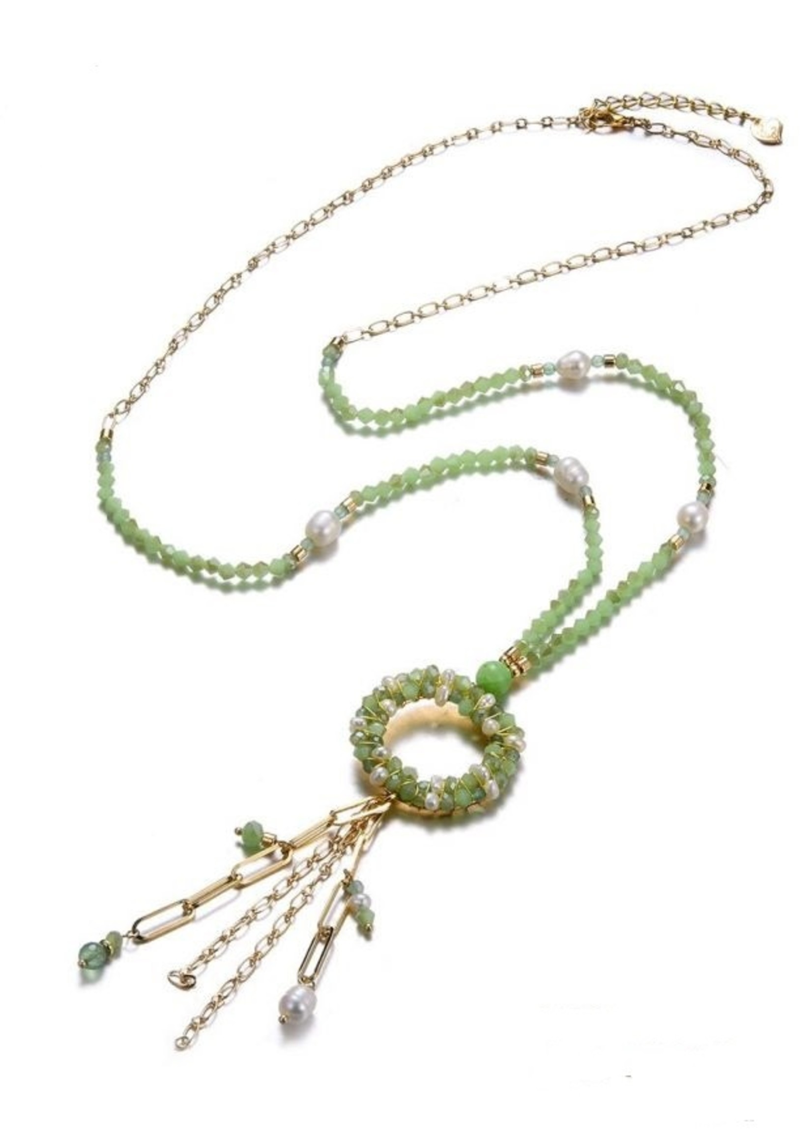 Ketting Color & Pearls